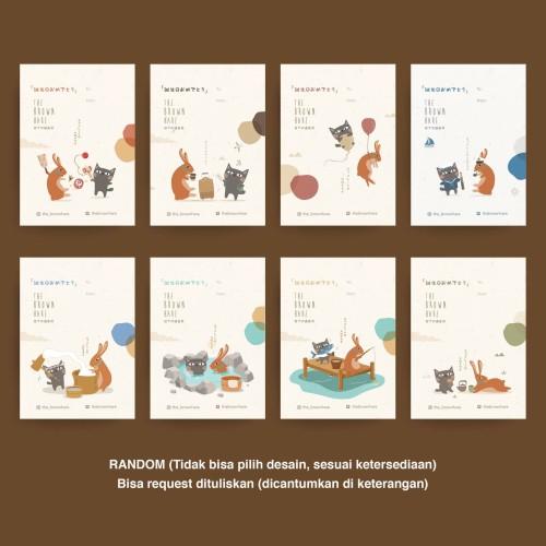 Foto Produk Greeting Card Kartu Ucapan Gift The Brown Hare dari The Hoppers