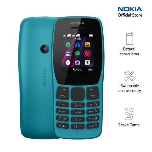 Foto Produk Nokia 110 – Ocean Blue dari Nokia Mobile Official