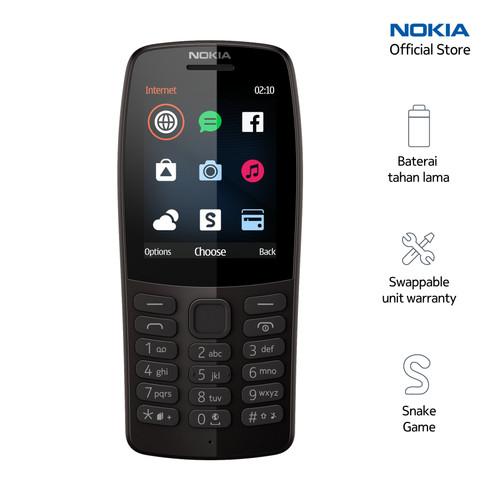 Foto Produk Nokia 210 – Black dari Nokia Mobile Official
