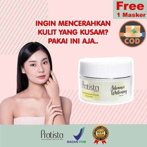 Foto Produk Advance whitening day cream : Cream Pemutih Wajah Pratista dari halimah kosmetiku