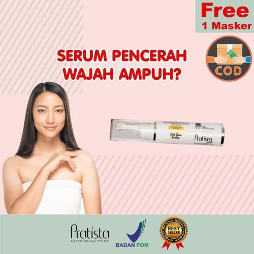 Foto Produk Serum Pencerah Wajah AMPUH Pratista : Whitening Serum Pratista/Skin Gl dari halimah kosmetiku