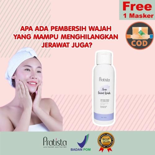 Foto Produk Sabun Khusus Jerawat Pratista : Acne Facial Wash 100 ml dari halimah kosmetiku