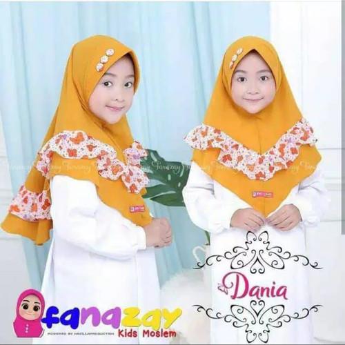 Foto Produk Kerudung Anak Kancing Motif Variasi Rempel Motif / Jilbab Hijab Anak - All Size, Ungu dari Alody's_Collection
