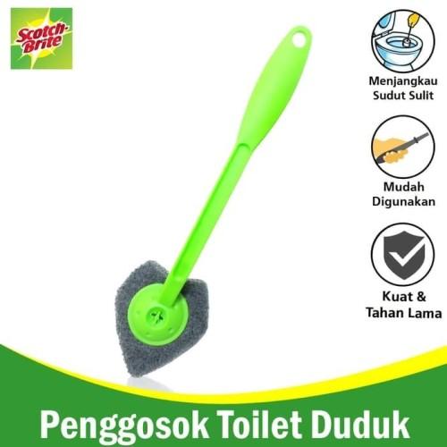 Foto Produk Sikat Sudut Kloset / Sikat WC / Toilet Brush Scotch brite ID-55 dari KODAKI Mall