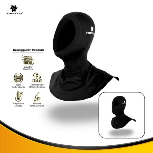 Foto Produk Tiento Hood Sport & Diving Olahraga Outdoor Balaclava Full Face Mask - S-M dari TIENTO