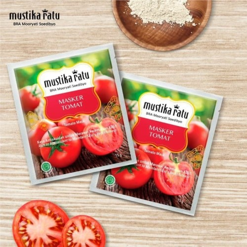 Jual Mustika Ratu Masker Wajah Tomat 15gr Kab Jombang Liora Kosmetik Tokopedia