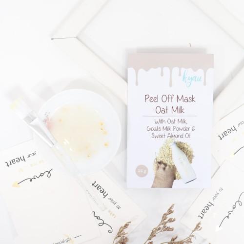 Foto Produk KYAU Peel Off Mask Oat Milk dari kyaumasker