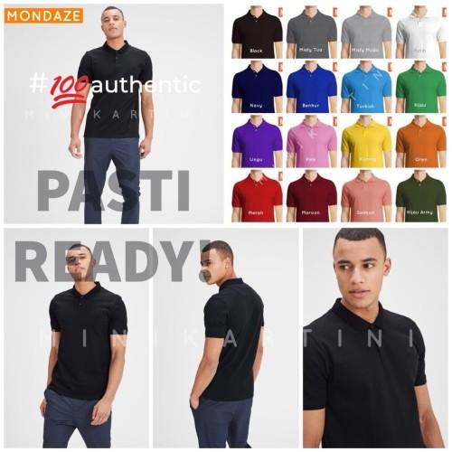 Foto Produk MEN Polo Shirt/ Kaos Polo Pria/ Kaos Polo Polos - S, Ungu or Pink dari MiniKartini