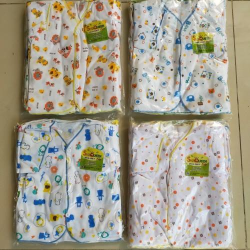 Foto Produk 12 pcs baju bayi baru lahir pendek SNI dari ozielbabyshop1