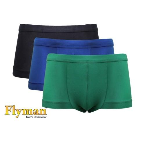 Foto Produk Flyman Mini Boxer Matching Color FM 3224 1 Pack Isi 3 - M dari Flyman Nathalie Store