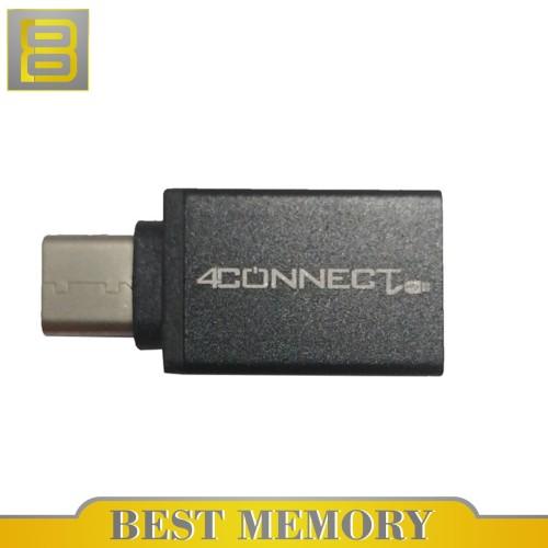 Foto Produk 4Connect Type-C Male to USB 3.0 A Female Adapter Converter USB 3.1 OTG dari BEST MEMORY