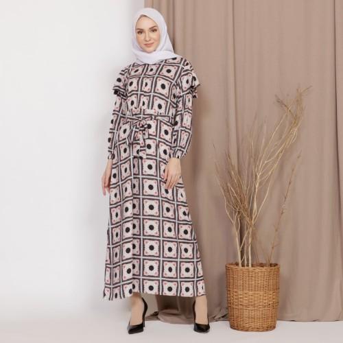 Foto Produk Mybamus Lodie Cotton Wrinkle Dress Black M15504 R93S5 dari Mybamus Official