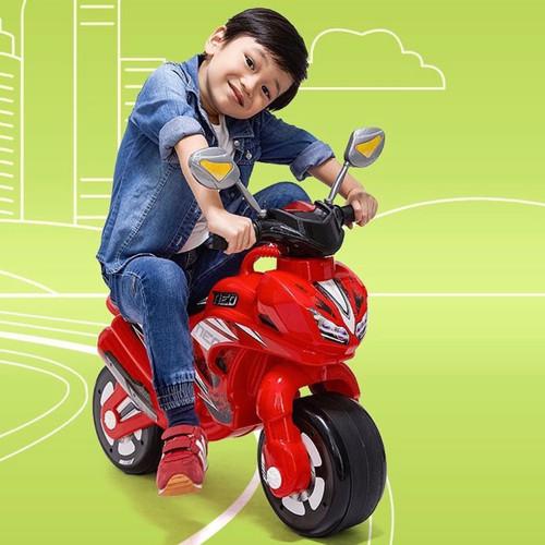 Foto Produk MAINAN MOTOR BALAP / MOBIL ANAK / MAINAN ANAK / MOTOR ANAK SHP NEO 553 - Putih dari EAZYTOYS