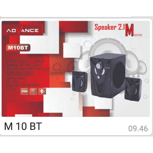 Foto Produk Speaker Advance M10BT dari ORI elektronik