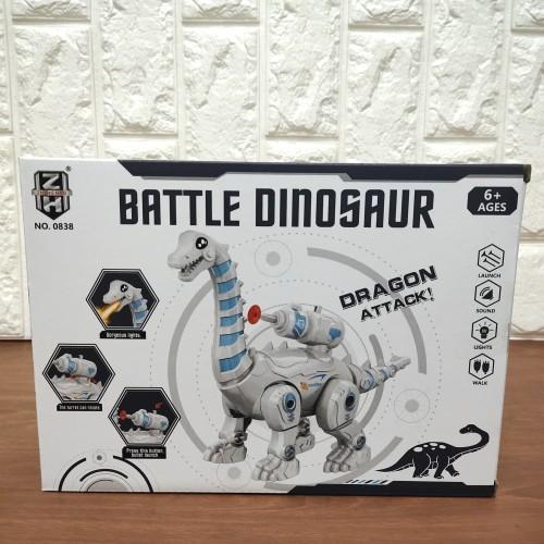 Foto Produk Mainan Anak Robot Dinosaur Dragon Attack Ada Suara dan Lampu dari KEZIA-95