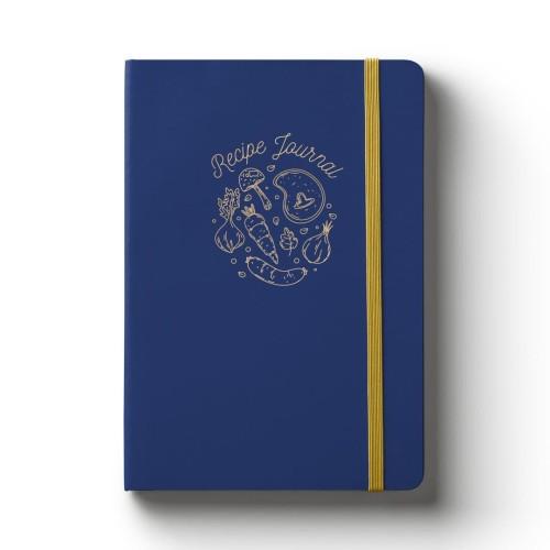Foto Produk A5 Recipe Journal Blue dari Papermark