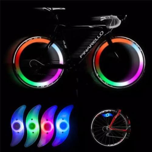 Foto Produk Lampu jari jari sepeda led/lampu hias sepeda di jari jari dari milias asesoris
