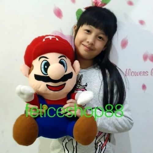 Foto Produk boneka mario L import dari feliceshop88