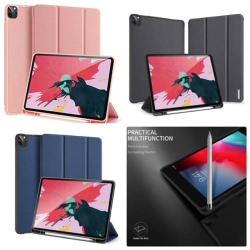 Foto Produk Case iPad Pro 2020 11 & 12.9 inch Dux Ducis Domo Series Cover Casing - - Biru, ipad pro 11 dari societyacc
