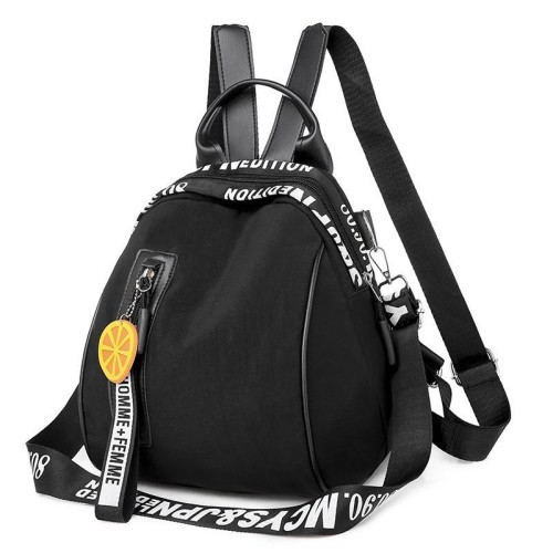 Foto Produk READY STOK B7079-black Tas Ransel Stylish Lucu Homme + Femme dari AlMirah Olshop