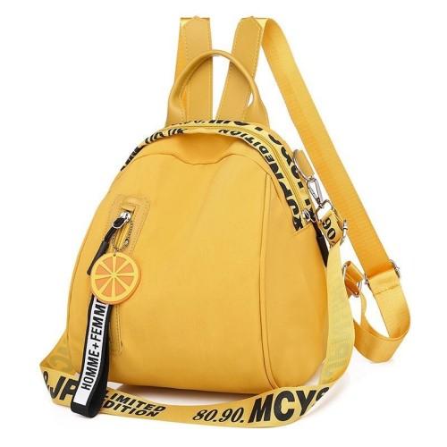 Foto Produk READY STOK B7079-yellow Tas Ransel Stylish Lucu Homme + Femme dari AlMirah Olshop