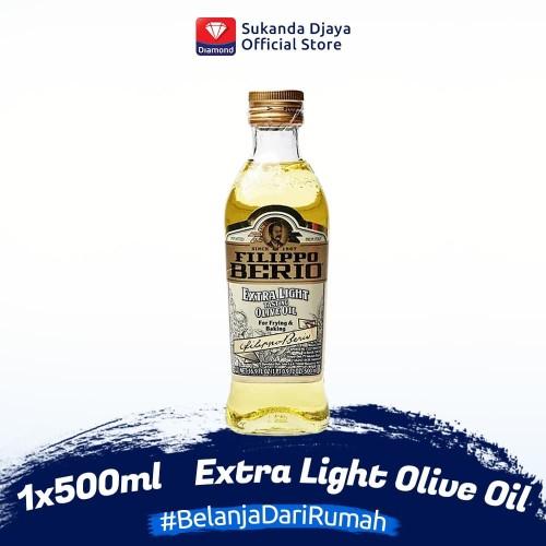 Foto Produk Filippo Berio Minyak Zaitun Extra Light Olive Oil 500 ml dari Sukanda Djaya Home