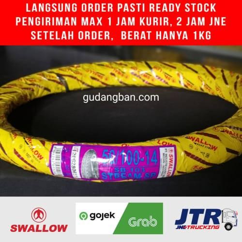 Foto Produk Ban Luar Swallow Uk 50 / 100 -14 StreamSP TUBETYPEE dari kios kio_