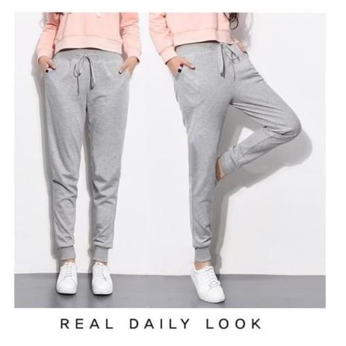 Foto Produk Celana panjang wanita polos - celanatraining - jogger wanita dari oxsport shop