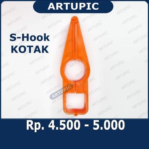Foto Produk S-Hook KOTAK Shook S-Hanger Shanger Gantungan Pipa Kandang Ayam dari ArtupicPeralatanPeternak