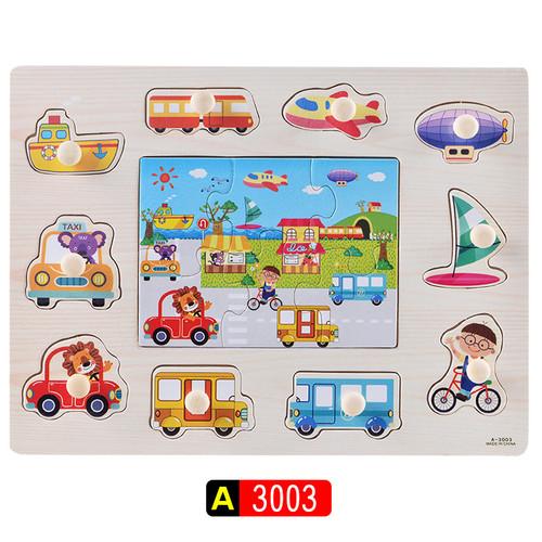 Foto Produk Mainan Puzzle Kayu Knob Premium - PANTAI dari Jaya Multi Kreasi