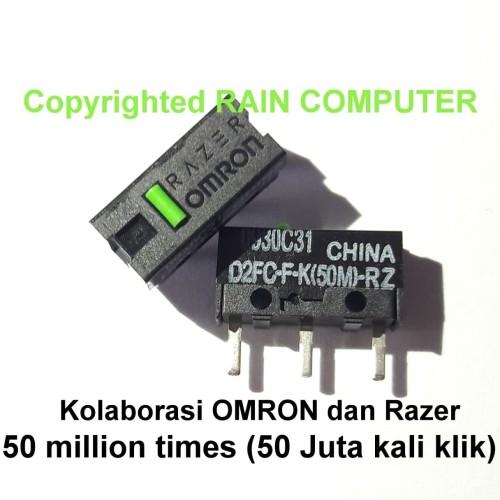 Foto Produk Micro Switch OMRON D2FC-F-K(50M)-RZ 50 Juta Klik Mouse Logitech Razer dari Rain Computer