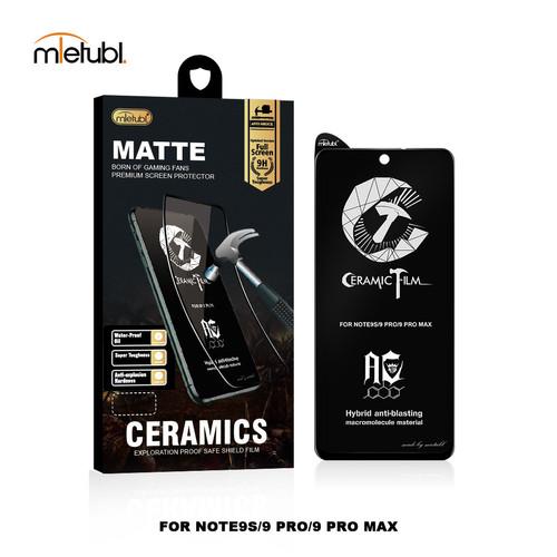 Foto Produk Xiaomi Redmi Note 9/9 Pro GAMING Matte Ceramic Tempered Glass Film - Redmi Note9PRO dari Techno First