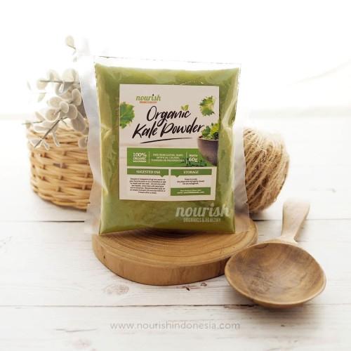 Foto Produk Organic Kale Powder 60gr dari Nourish Indonesia