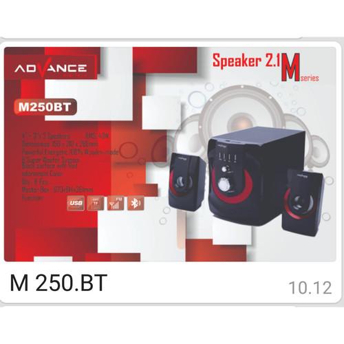 Foto Produk Speaker Advance M250BT dari ORI elektronik