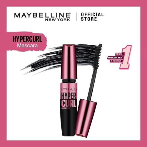 Foto Produk Maybelline Volum Express Hyper Curl Mascara Waterproof - Black dari Maybelline Official Shop