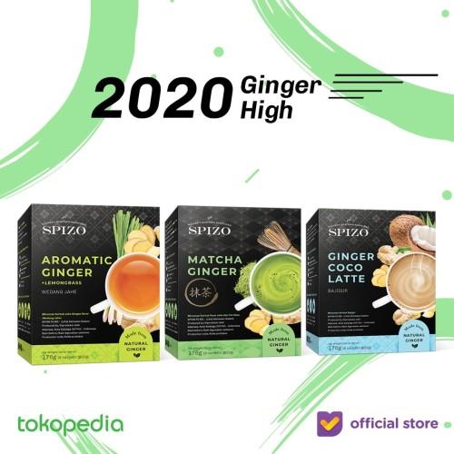 Foto Produk Ginger High (Matcha, Coconut Latte, Wedang Jahe, Bajigur) dari SPIZO