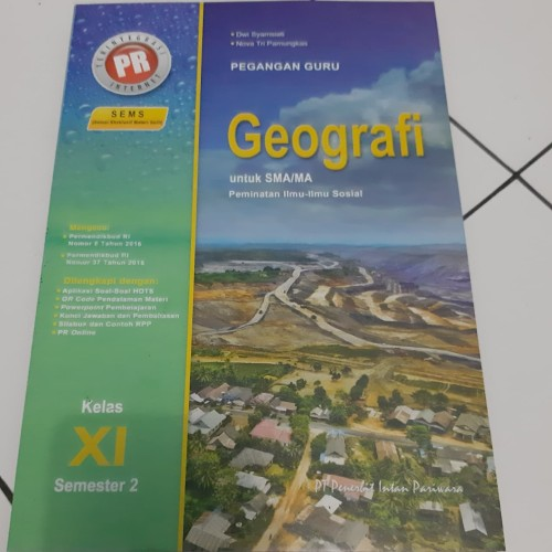 Jual Buku Kunci Jawaban Pr Geografi Kelas 11 Semester 2 Kota Surabaya Happy Shope Toped Tokopedia