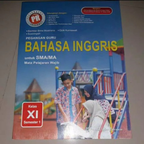 Jual Buku Kunci Jawaban Pr Bahasa Inggris Kelas 11 Semester 1 Kota Surabaya Happy Shope Toped Tokopedia