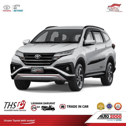 Foto Produk Toyota Rush (Program Superdeals 50) Booking Fee Only dari AUTO2000 Official Store
