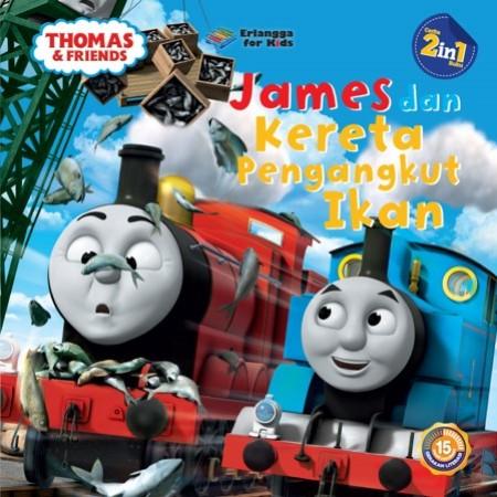 Foto Produk Thomas & Friends: James&Kereta Pengangkut Ikan-Hiro yg Baik dari Penerbit Erlangga