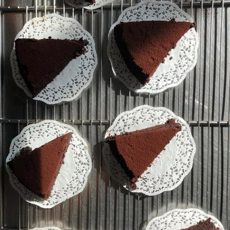 Foto Produk GLUTEN FREE CHOCOLATE CAKE (2 SLICES) dari mood butter