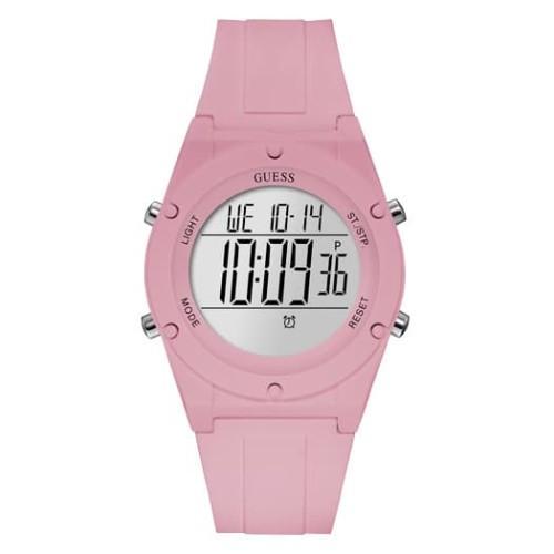 Foto Produk Guess Jam Tangan Wanita Analog Pink Silicone - W1282L4 dari Gilang Agung