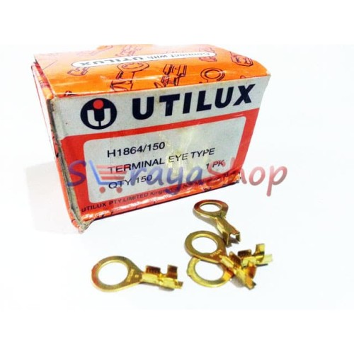 Foto Produk Terminal / Skun Kabel Lubang 8mm [H1864] Utilux dari Seraya Shop
