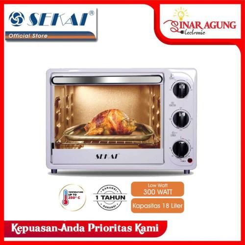 Foto Produk SEKAI Oven [18L] Low Watt - OV 180 GARANSI RESMI dari sinar agung electronic