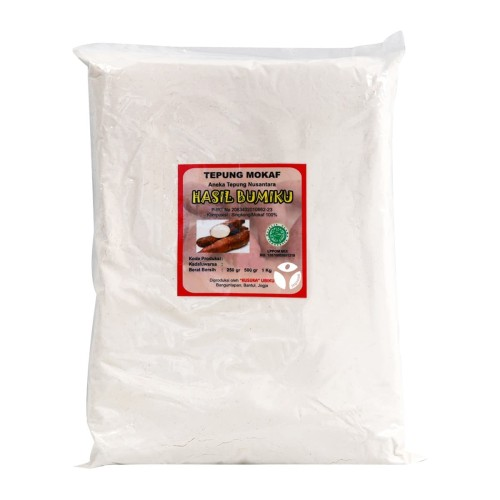 Foto Produk Nafisa - Tepung Mocaf Gluten Free 1kg - Tepung Serbaguna - Sehat dari Jagapati