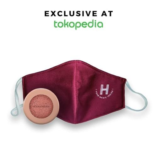 Foto Produk BUNDLING Holika Holika Face Mask + Foil Shock Shadow - Smoked Cherry, Biru dari Holika Holika Indonesia