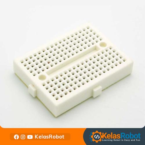 Foto Produk Mini Prototype Breadboard 170 Points SYB-170 - Murah Berkualitas dari Kelas Robot