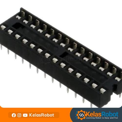 Foto Produk Socket IC 28P DIP Narrow dari Kelas Robot