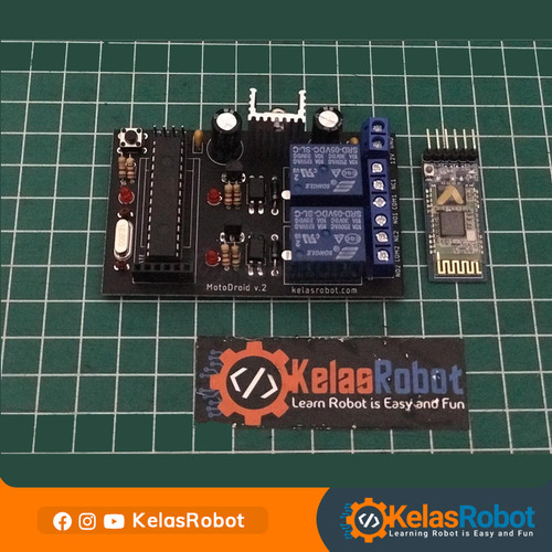 Foto Produk MotoDroid v.2 Board KelasRobot dari Kelas Robot