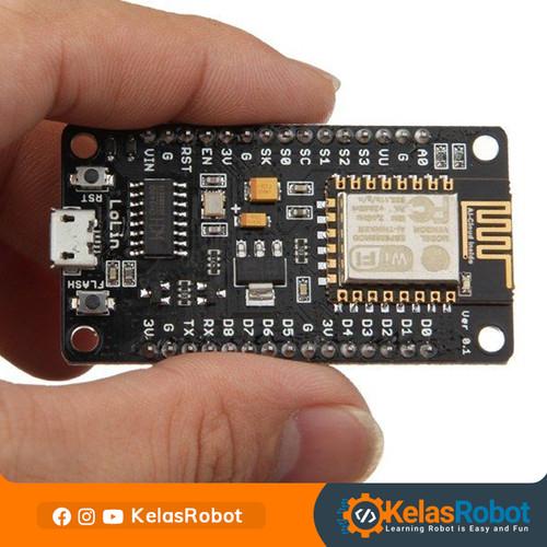 Foto Produk NodeMCU LoLin V3 CH340G WIFI Internet IoT Module Support Arduino IDE dari Kelas Robot